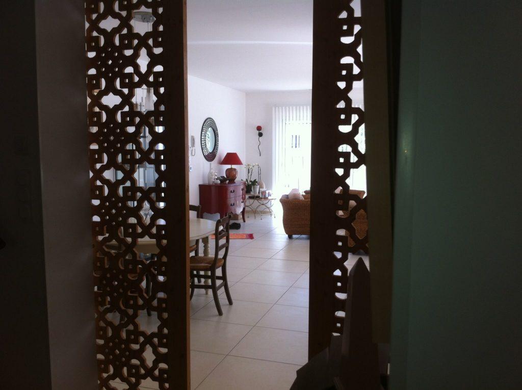 claustra separation cuisine salon