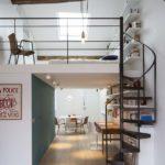 mezzanine industrielle design contemporain