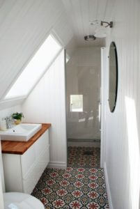 salle de bain carrelage sol