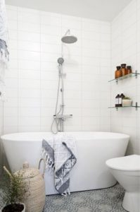 salle de bain panier