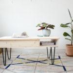 table basse bois idee