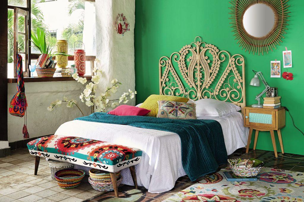 decoration orientale chambre à coucher inspiration