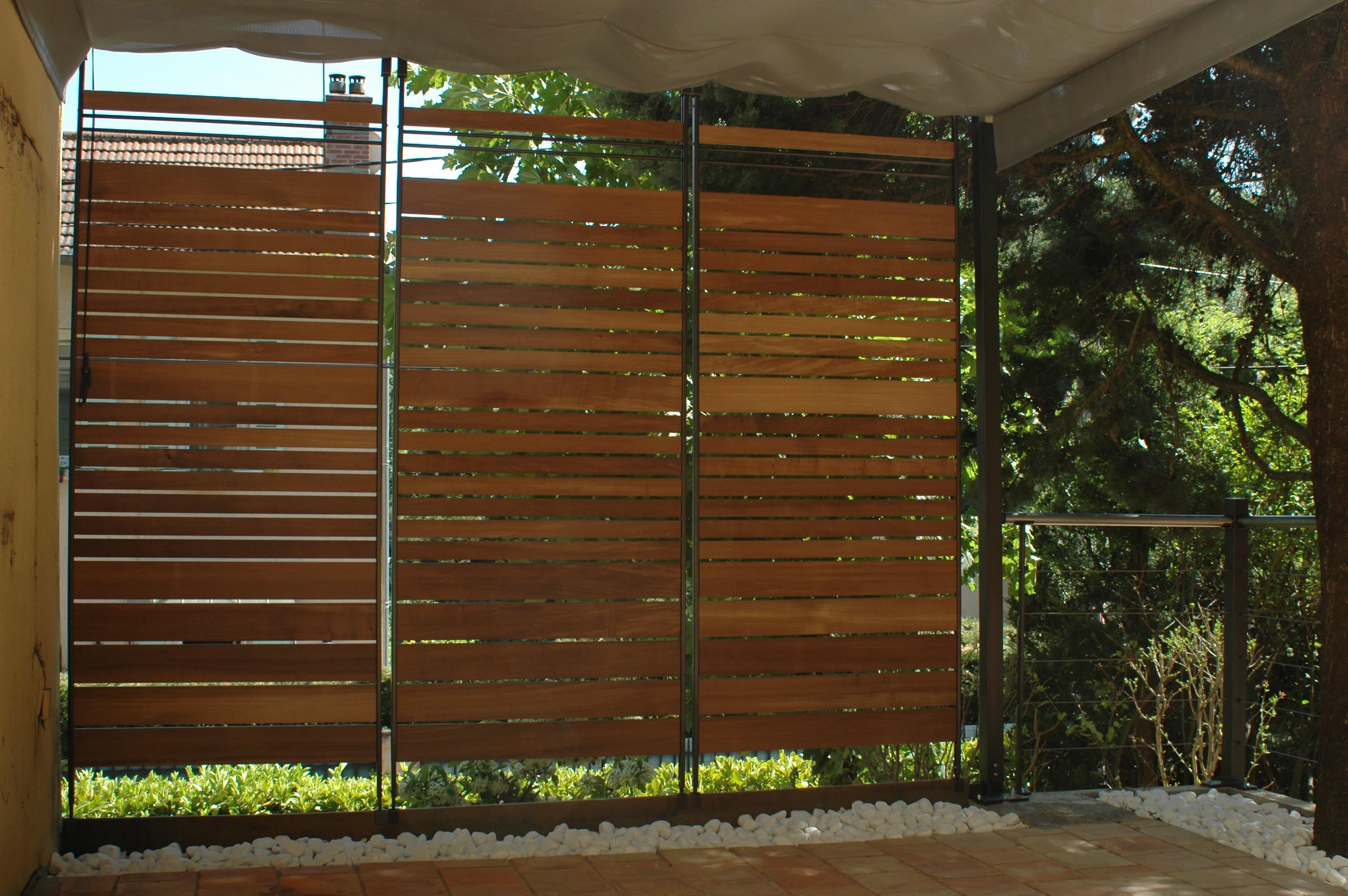 Brise Vue Terrasse Bois le brise-vue : idéal pour rendre opaque une baie vitrée