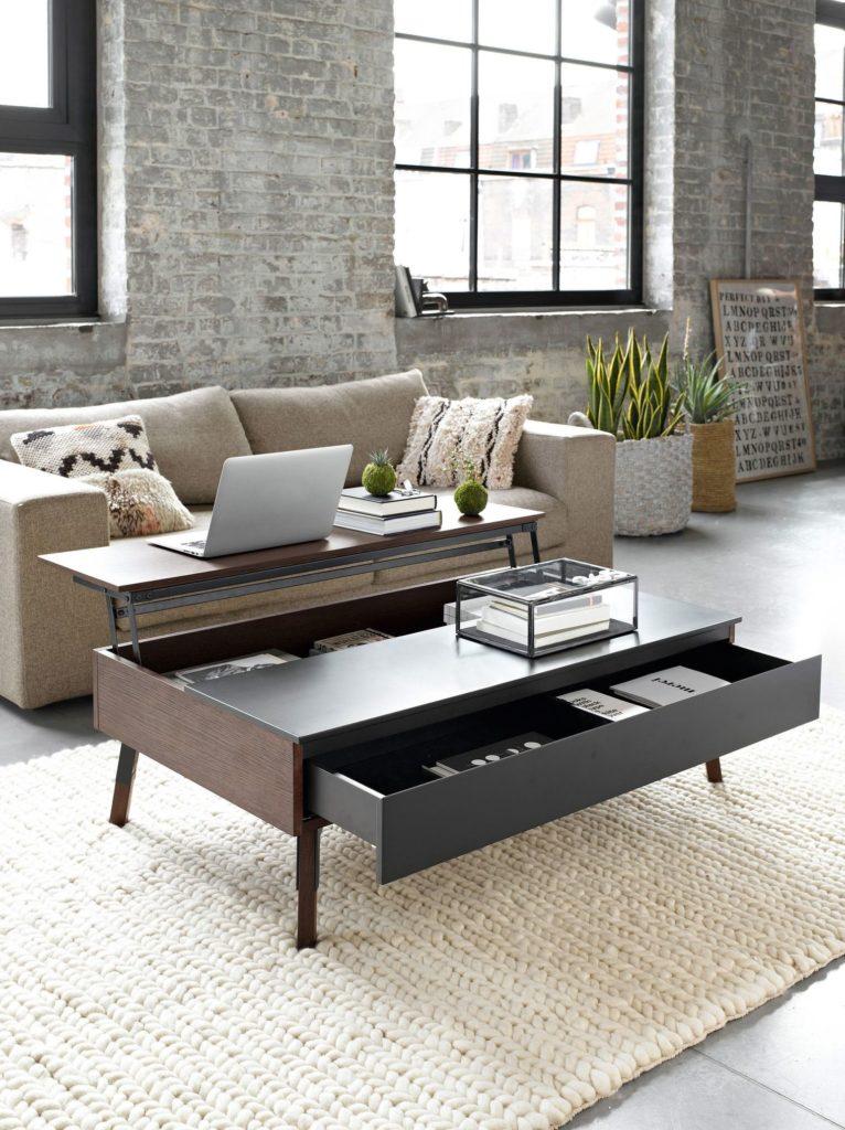 studio table basse rangement