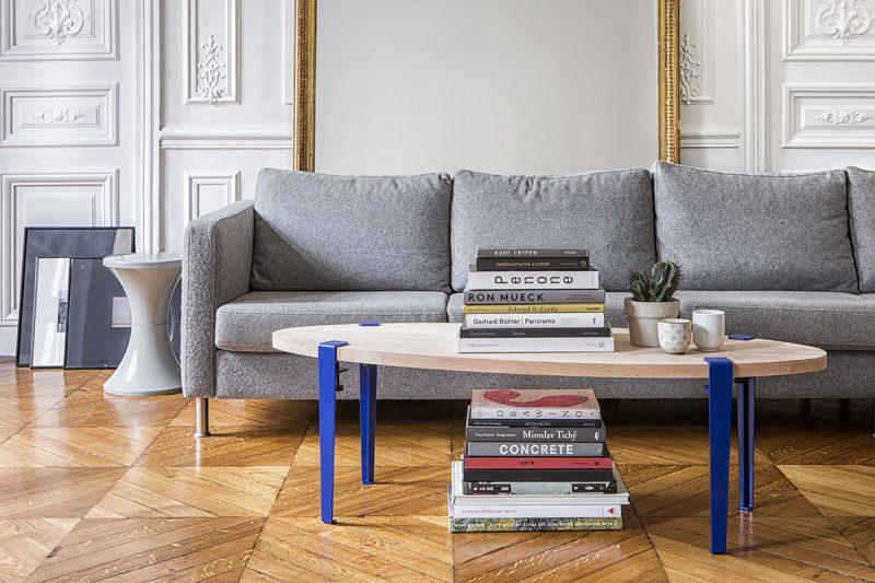 table basse couleur bois
