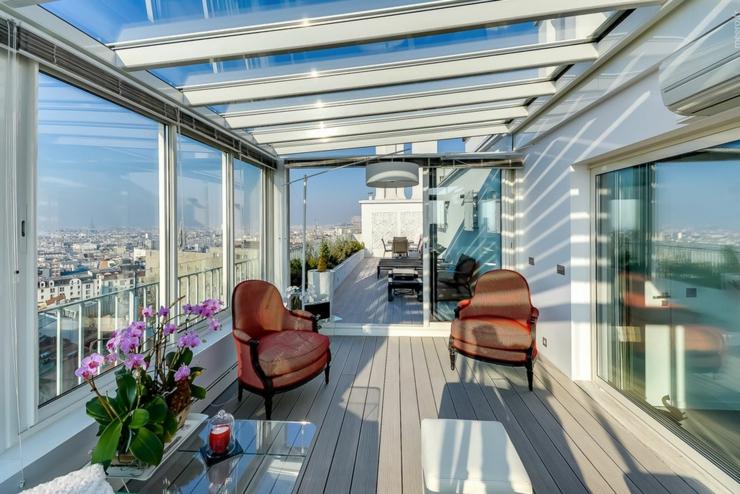 veranda terrasse moderne