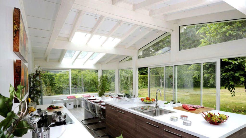 veranda cuisine salle a manger