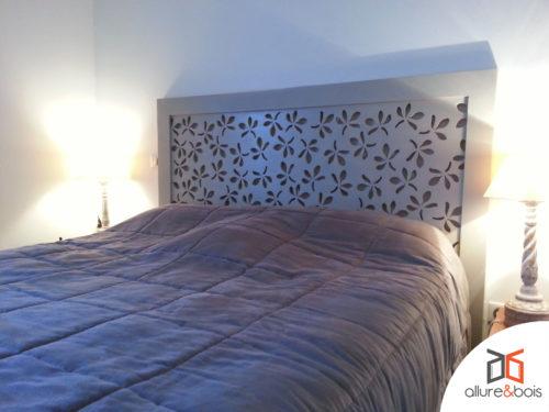 tête-de-lit-floral