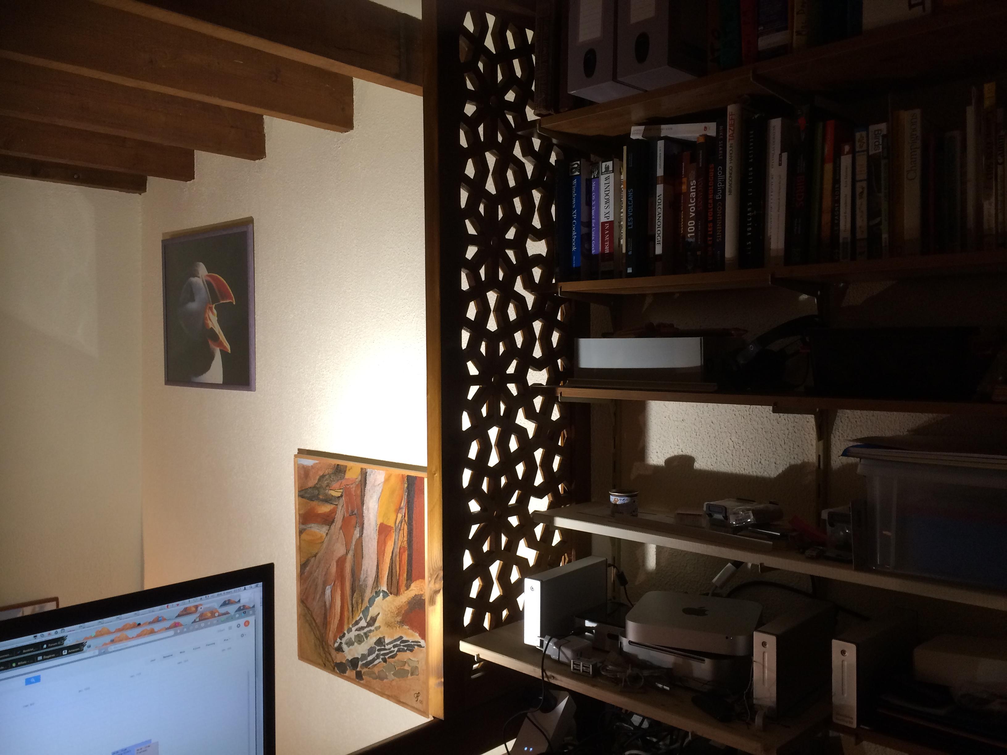 bois- claustra- étagère
