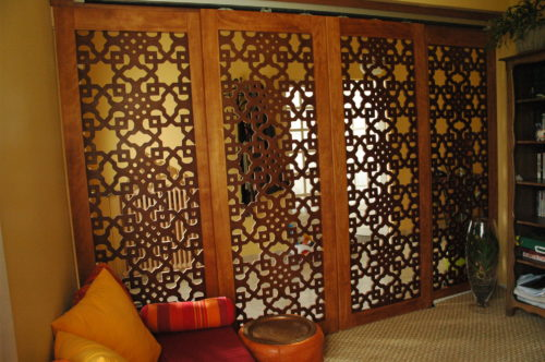 les cr ations de moucharabiehs arabes par allure et bois. Black Bedroom Furniture Sets. Home Design Ideas