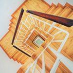 rambarde-intérieure-maison-escalier-bois
