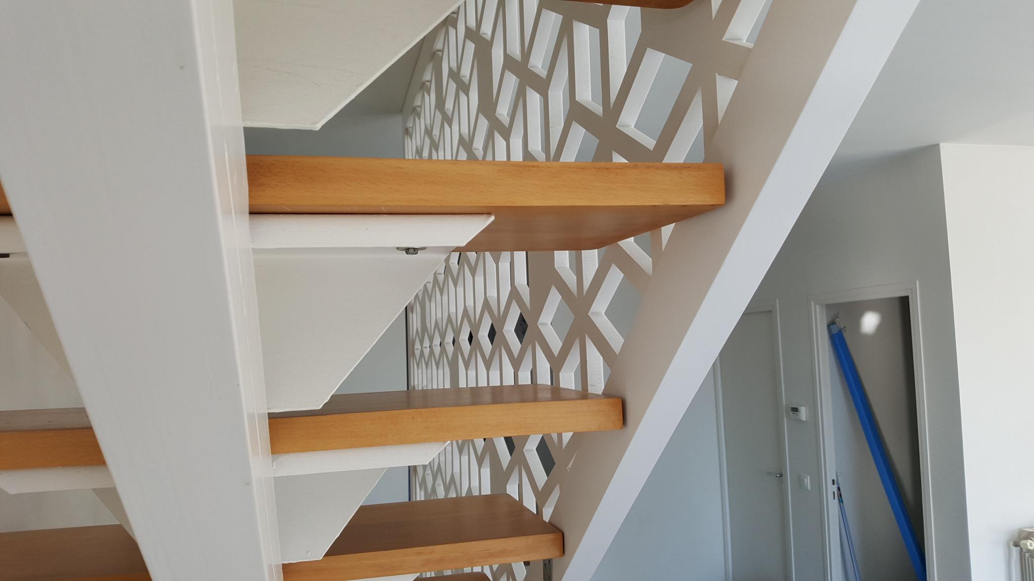 Peindre Une Rampe D Escalier En Bois rampe d'escalier d'intérieur en bois sur-mesure par allure