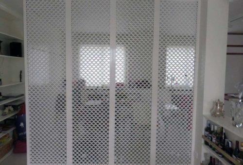 claustra bois japonais blanc