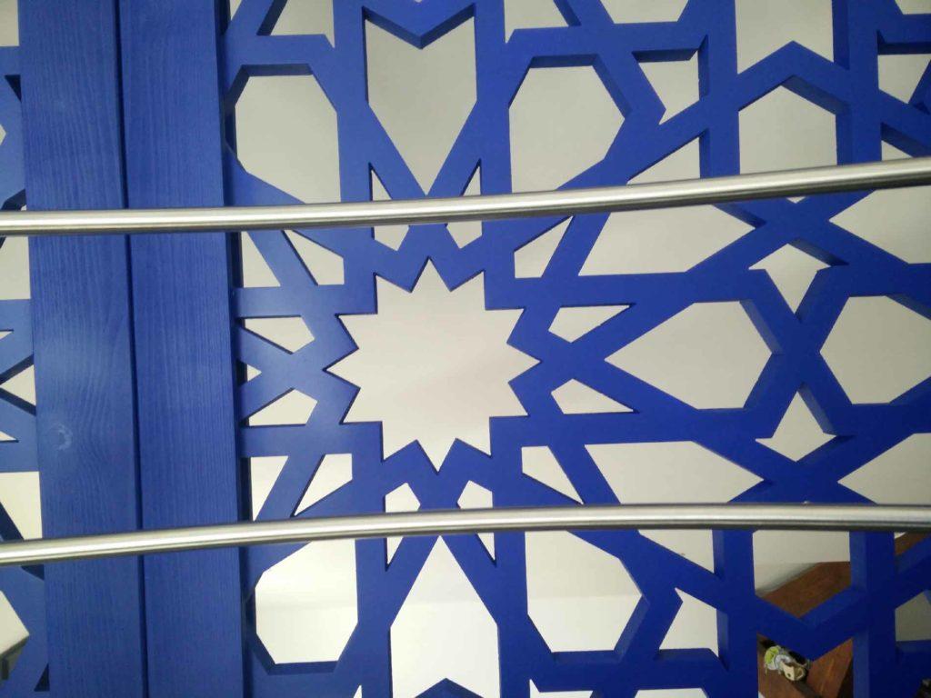 claustra design bleu