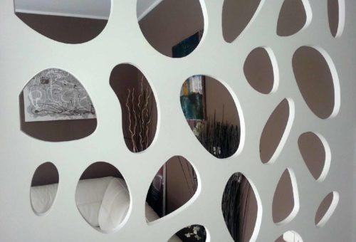 claustra motif arrondi