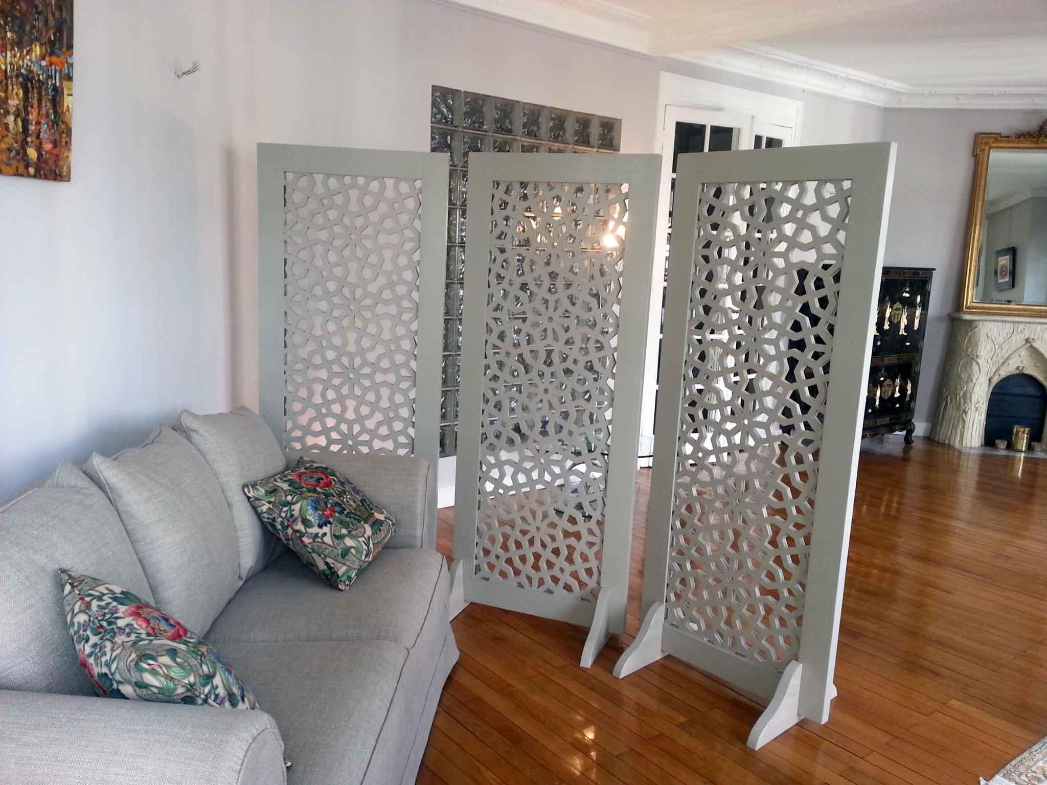 Fabriquer Un Claustra Bois paravent persienne en bois sur-mesure par allure et bois !