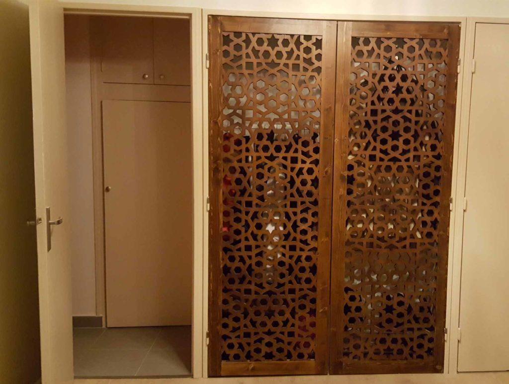 claustras portes placard