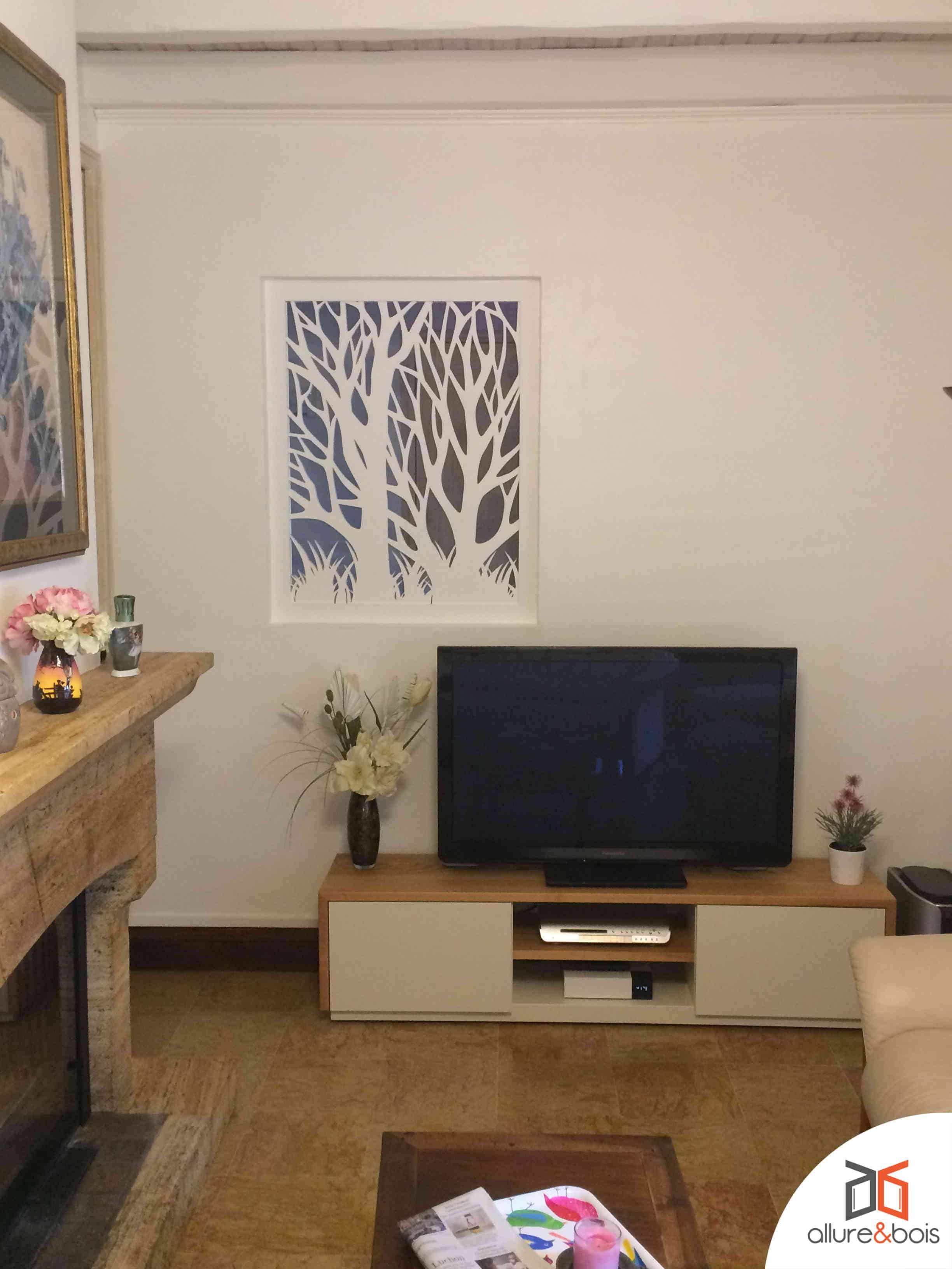 comment d corer une fen tre int rieure dans une cloison. Black Bedroom Furniture Sets. Home Design Ideas