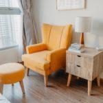 mobilier bois intérieur salon tendance