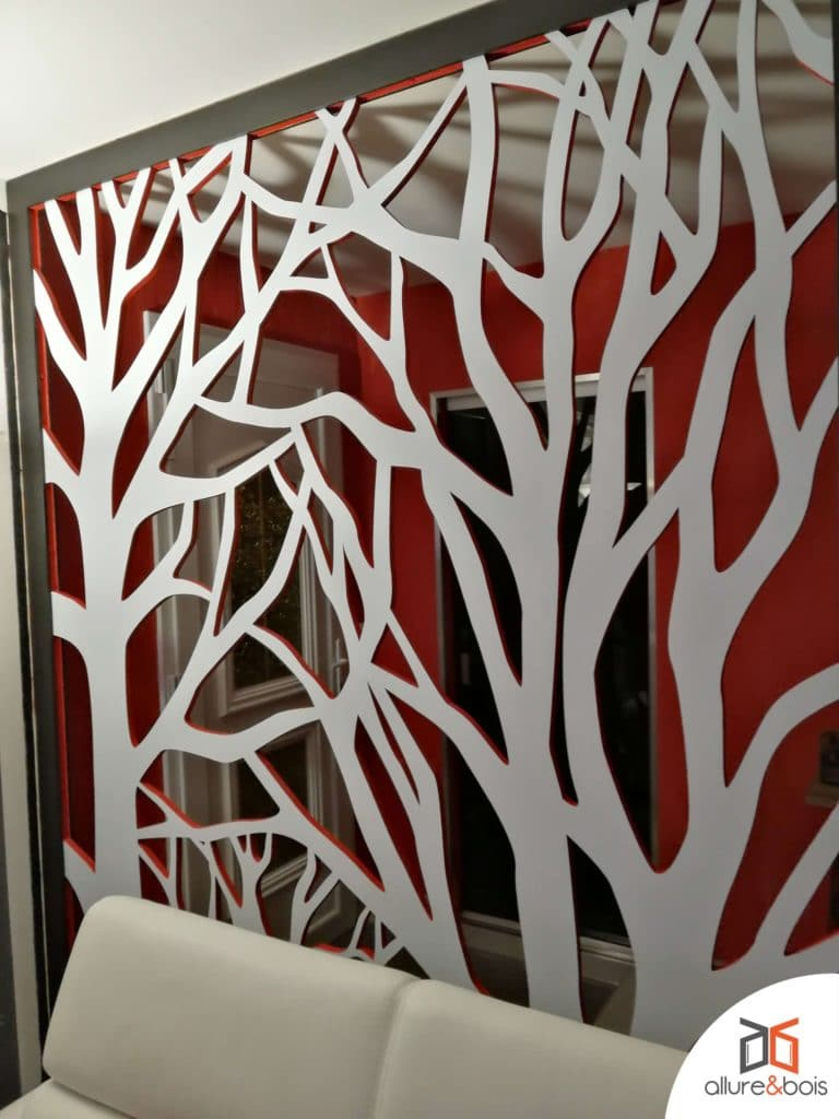 claustra bois gris