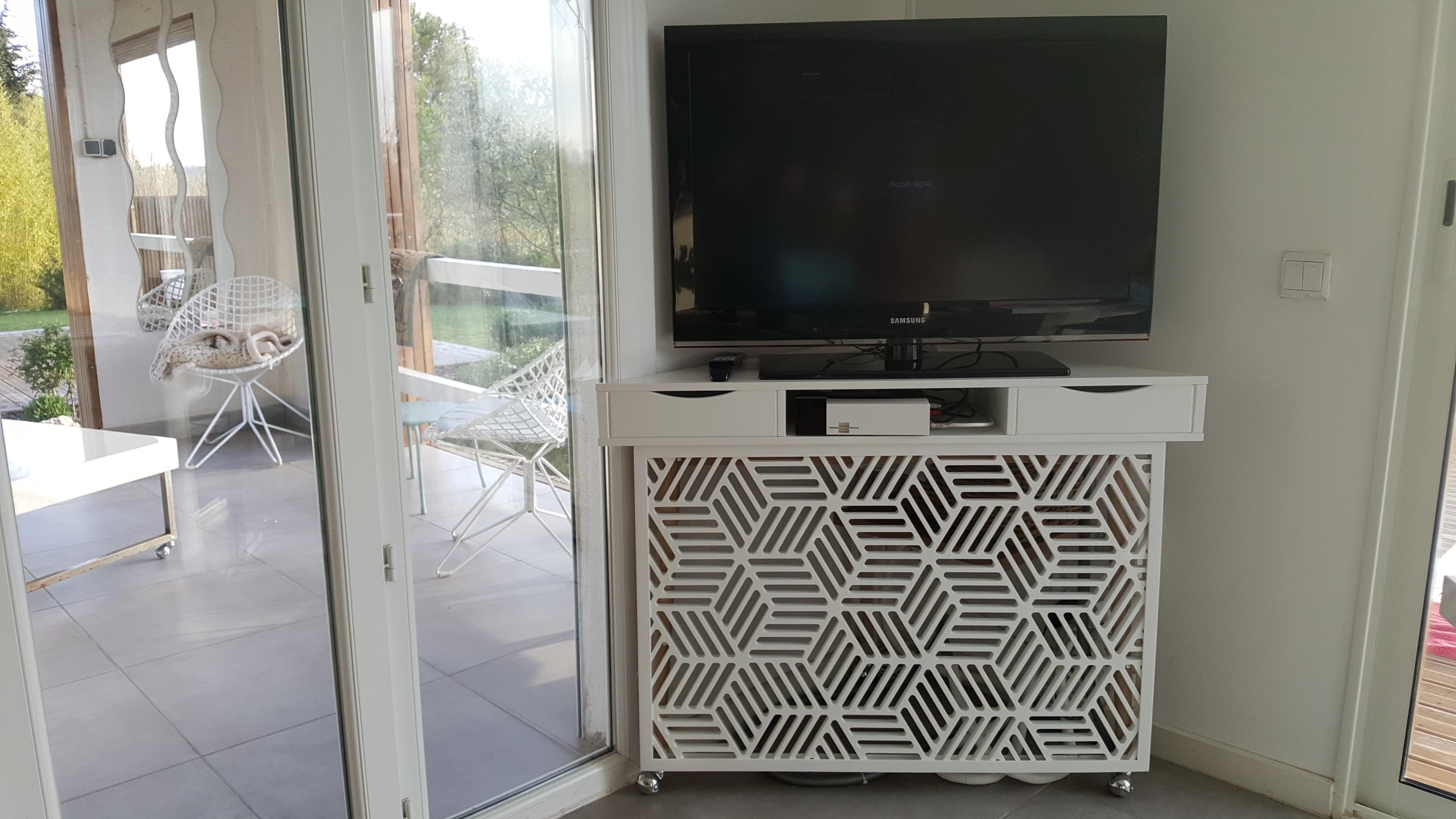 meuble-TV-bois-blanc