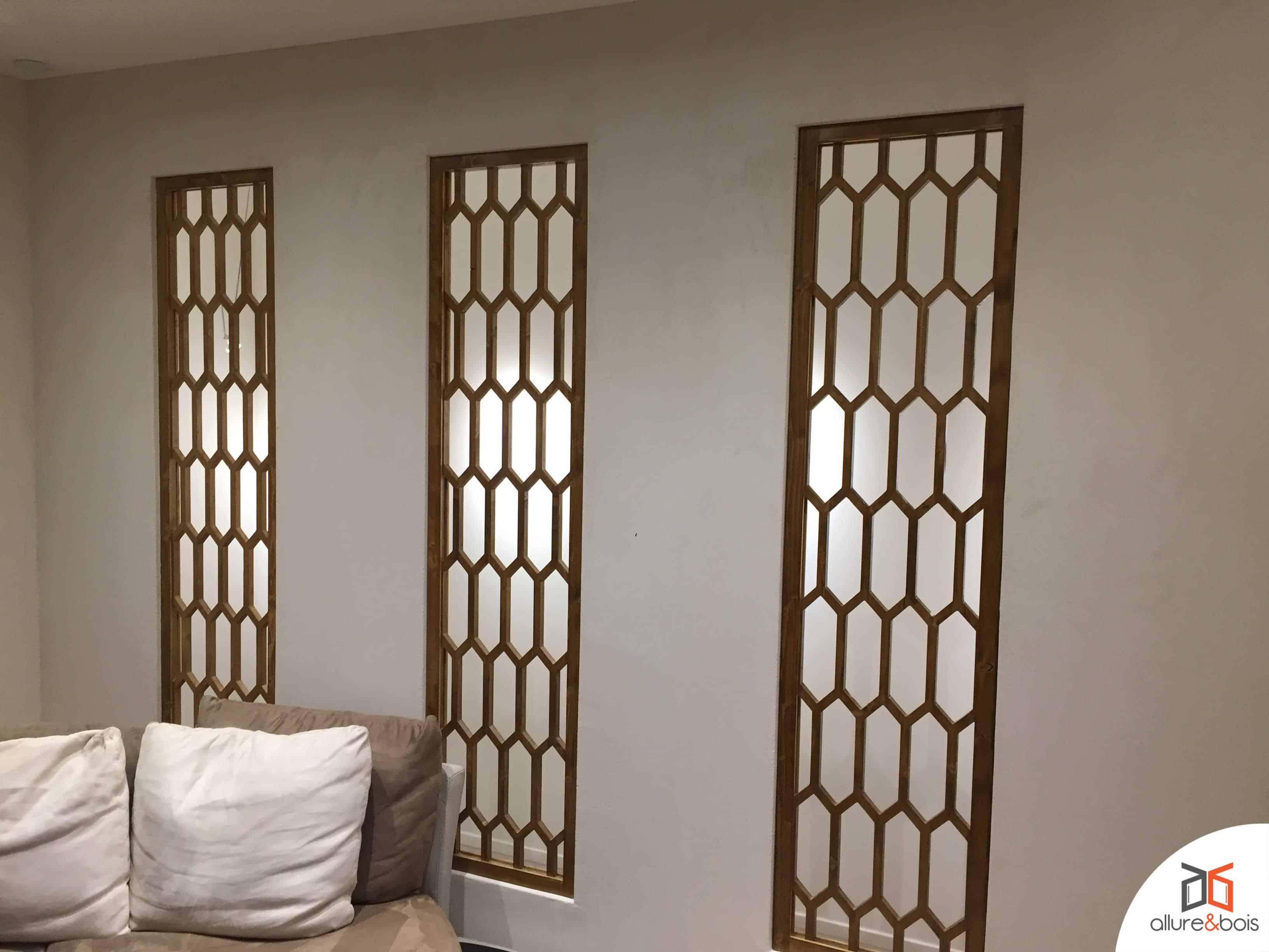 Le claustra bambou pour un salon zen
