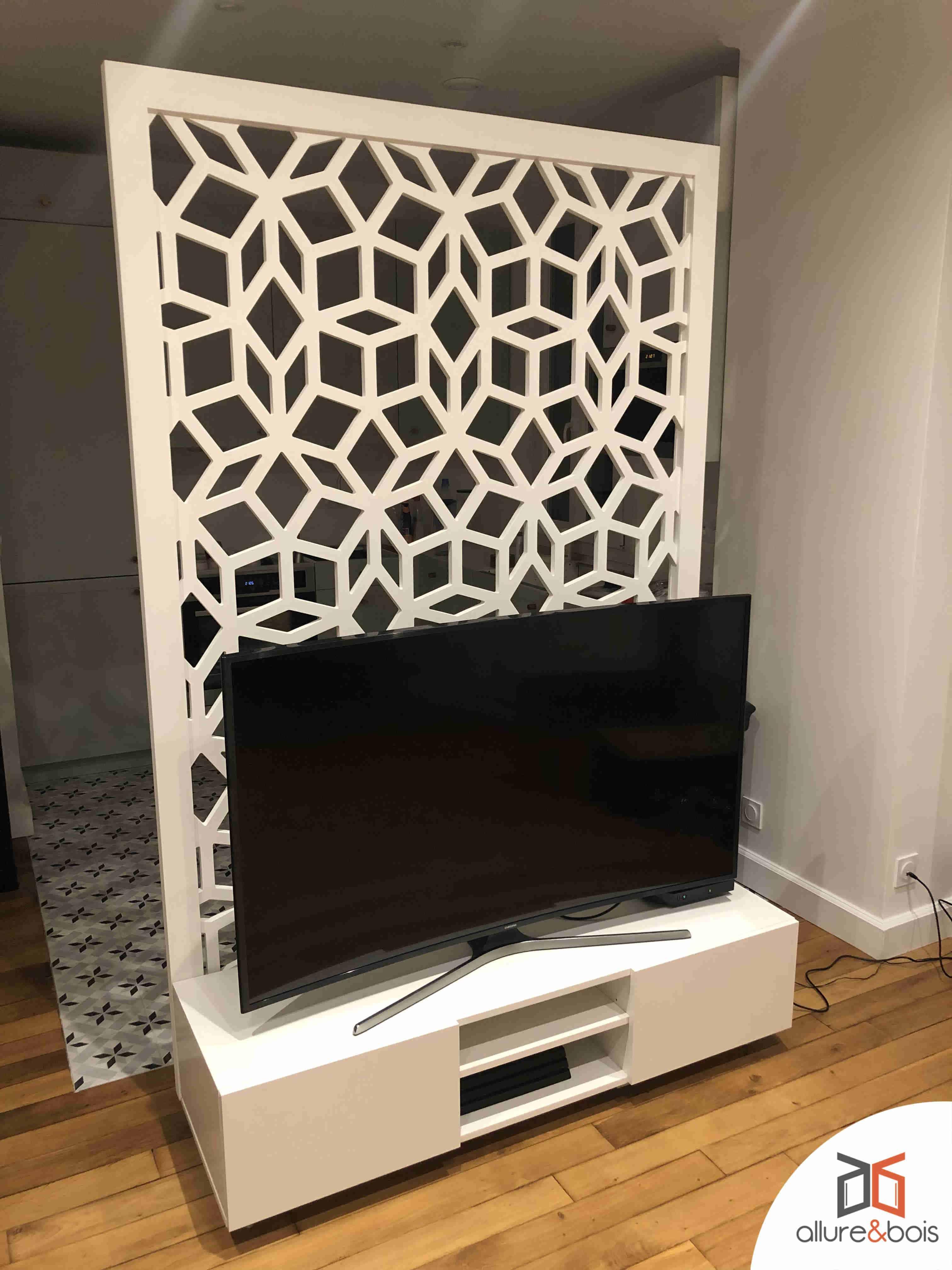 meuble-en-bois-personnalisé-console-TV