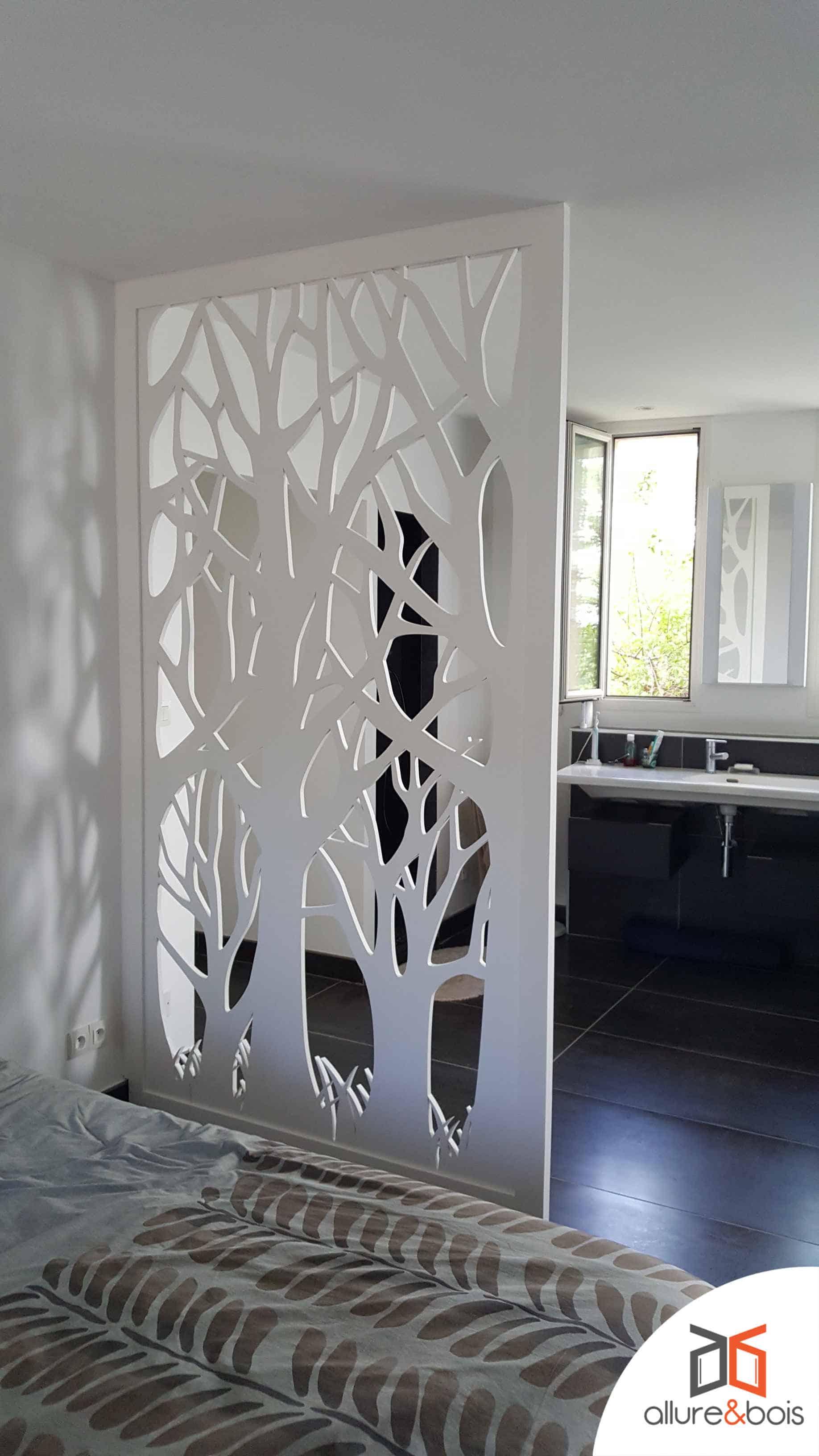 paravent-bois-blanc-arbres-ombres-portées