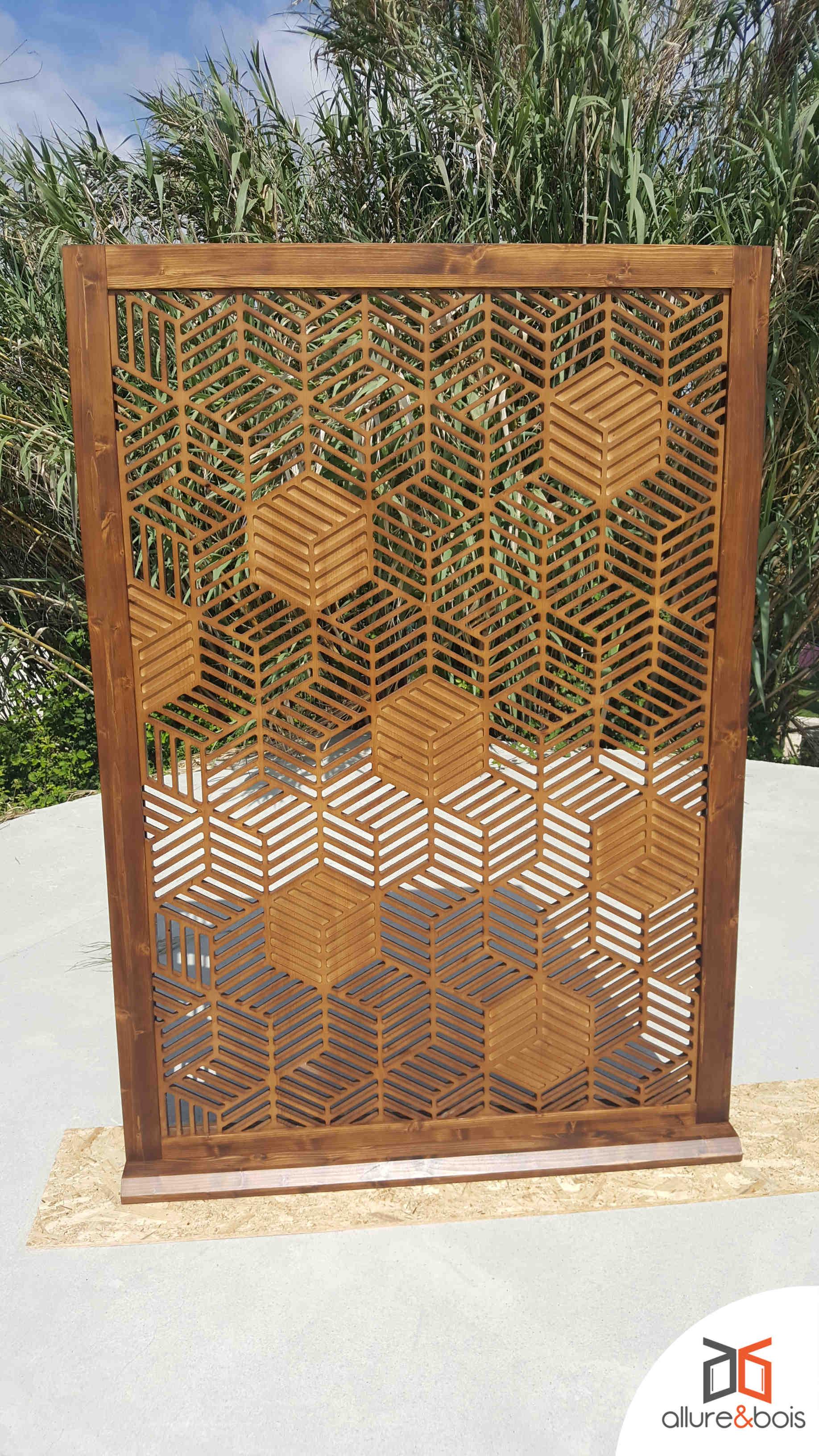 Claustra bambou pour votre terrasse extérieure