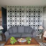 Sisius : moucharabieh blanc séparateur d'espaces
