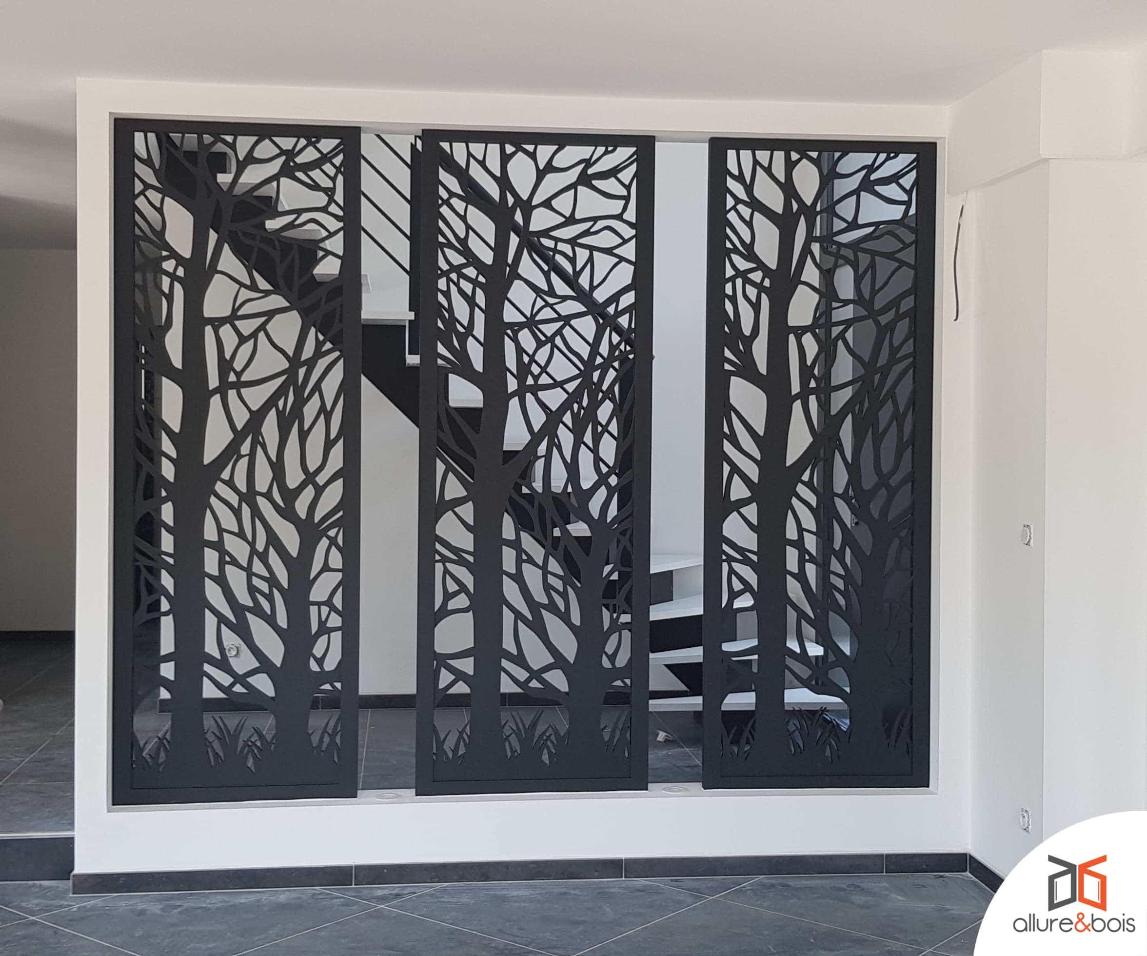 claustra décoratif entrée