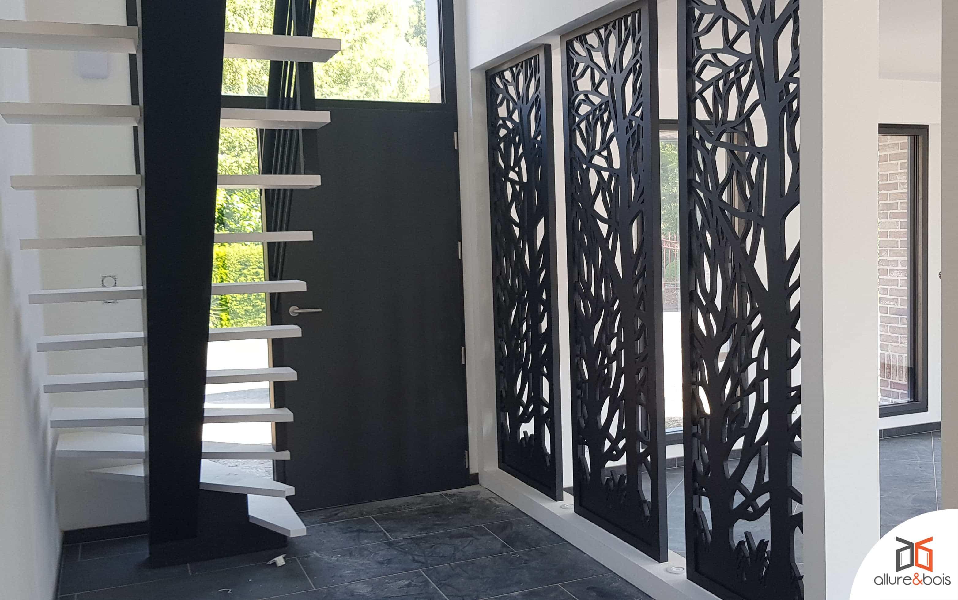 délimitation décorative entrée