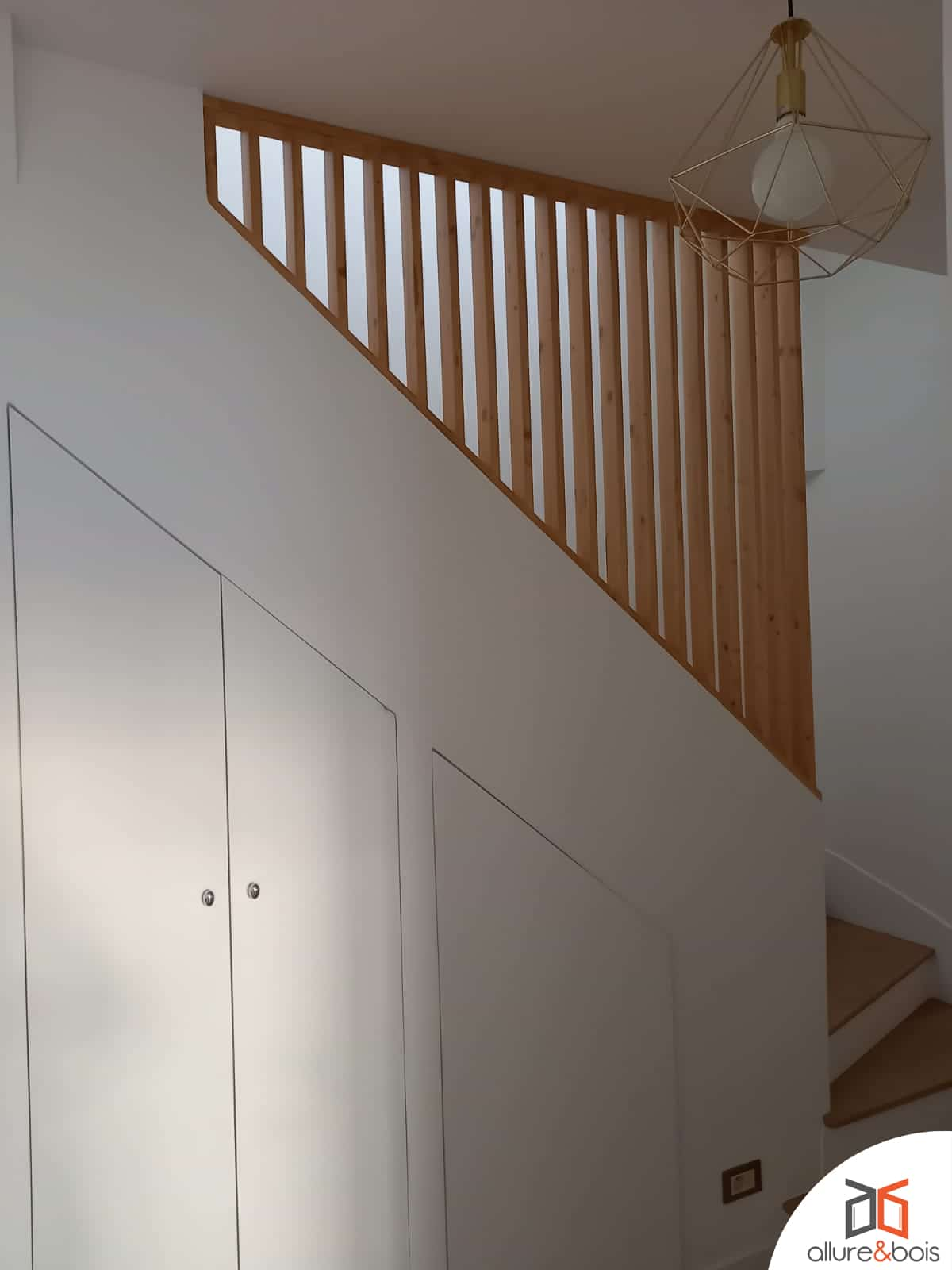 Claustra Lattis pour petit garde-corps d'escaliers
