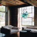 loft moderne style ancien bois